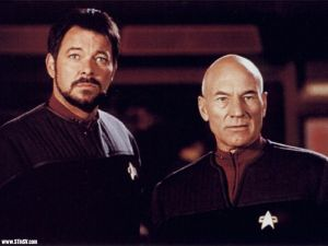Picard and Riker