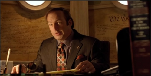 "Saul Goodman (11-Caban): ""From what I do hear about him, he (Gus Fring, 9-Caban) is like you (Walt, 9-Caban)"""